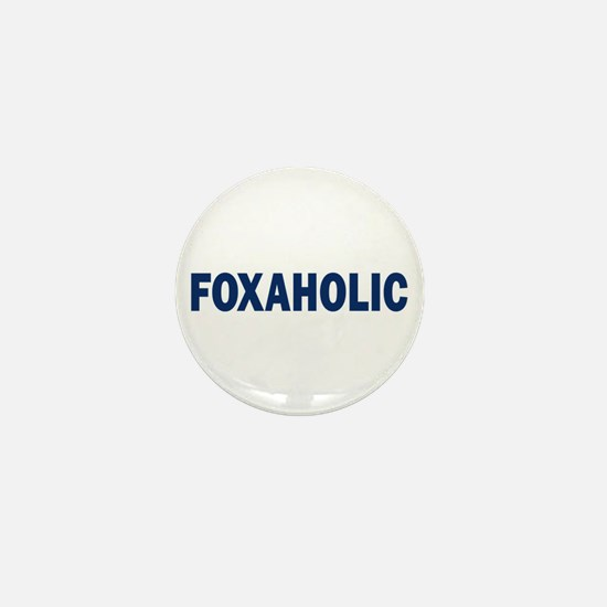 Fox aholic v2 Mini Button
