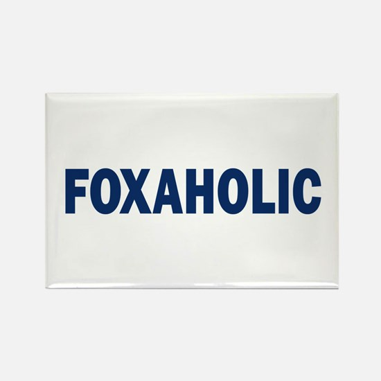 Fox aholic v2 Rectangle Magnet