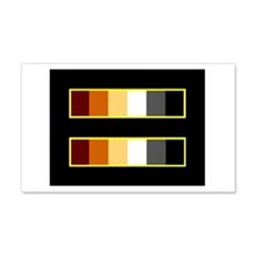 Equality Bear Black 20x12 Wall Peel