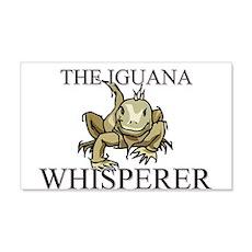 The Iguana Whisperer 20x12 Wall Peel