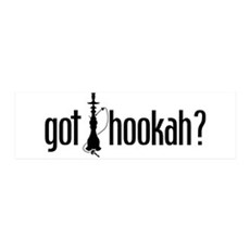 Got Hookah? Got Sheeshah? 36x11 Wall Peel