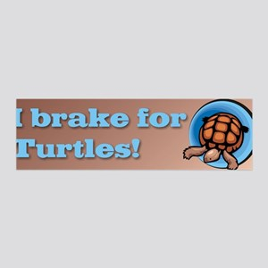 I brake for Turtles 36x11 Wall Peel