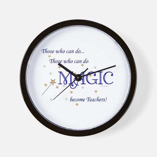 Do Magic Too Wall Clock