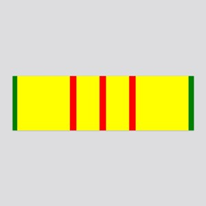 Vietnam Veteran Ribbon 36x11 Wall Peel