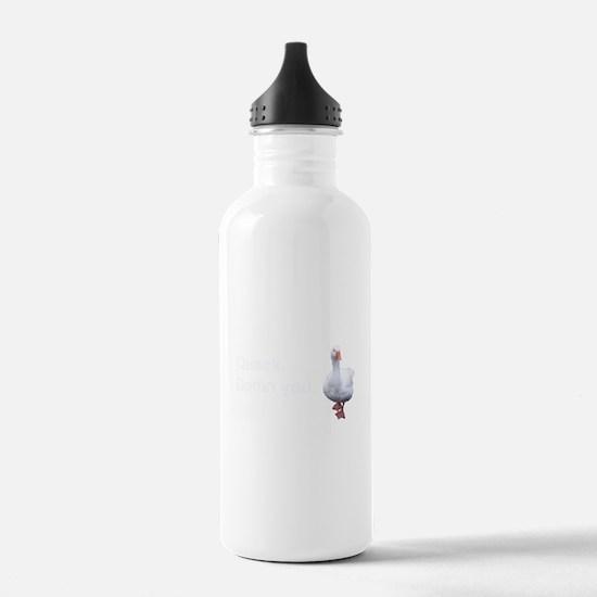 Quack Damn You Water Bottle