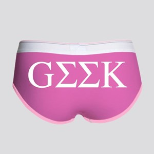 Greek Geek Women's Boy Brief