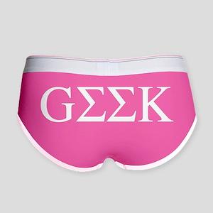 Greek Geek Women's Boy Brief