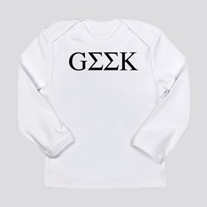 Greek Geek Long Sleeve Infant T-Shirt
