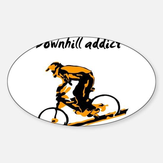 Cute Cheap mountain bike sale Sticker (Oval)