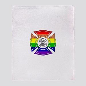 Fire Pride Throw Blanket
