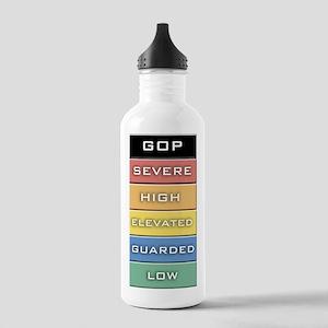 GOP Terror Alert Level Stainless Water Bottle 1.0L