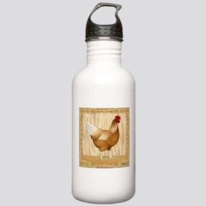 Golden Hen Stainless Water Bottle 1.0L