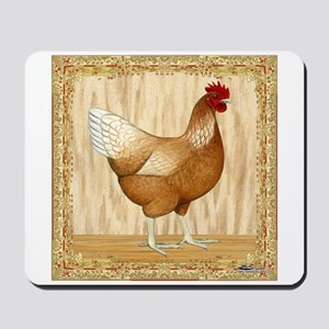 Golden Hen Mousepad