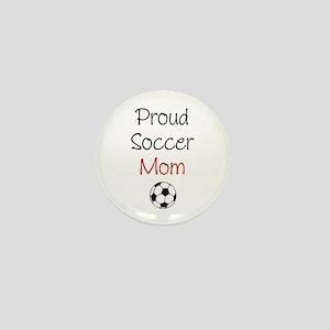 """""""Soccer Mom"""" Mini Button"""