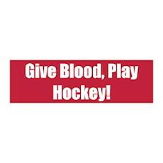 Give Blood, Play Hockey!