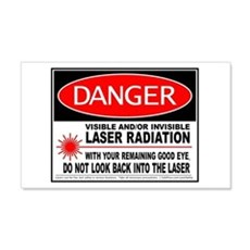 Laser Safety   20x12 Wall Peel