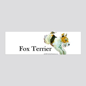 Flying Fox Terrier 36x11 Wall Peel