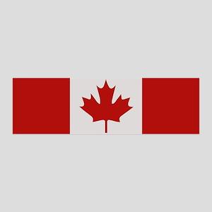 """""""Canada Flag"""" 36x11 Wall Peel"""