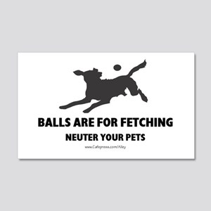 Neuter Your Pets 20x12 Wall Peel