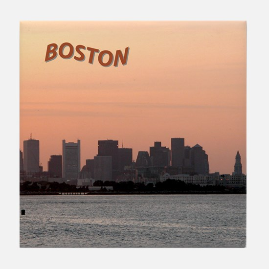 Boston Dusk Tile Coaster