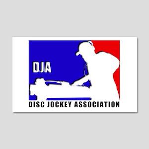 Disc jockey association 20x12 Wall Peel