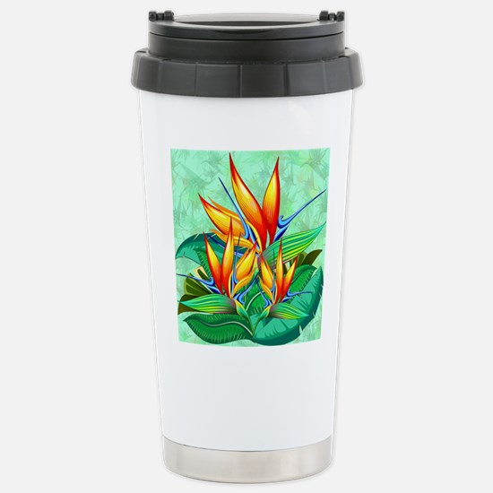 Cute Bird of paradise Travel Mug