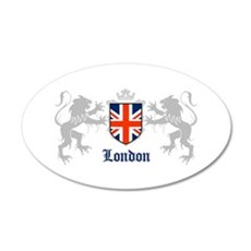 Union lions 20x12 Oval Wall Peel