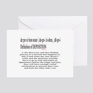 deposition-2 Greeting Cards