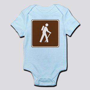Hiking Trail Sign Infant Bodysuit