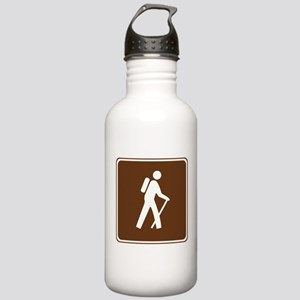 Hiking Trail Sign Stainless Water Bottle 1.0L