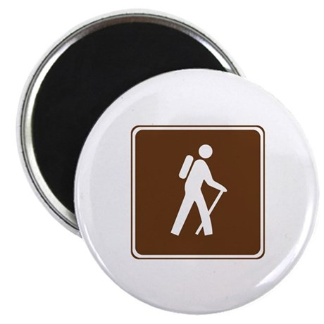 "Hiking Trail Sign 2.25"" Magnet (100 pack)"