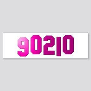 90210 Sticker (Bumper)