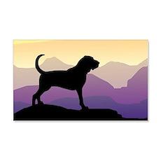 Bloodhound Purple Mountain 20x12 Wall Peel