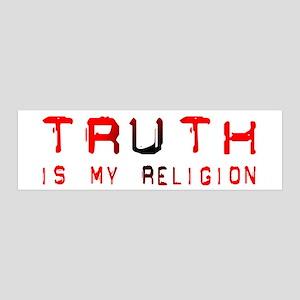 Truth 36x11 Wall Peel
