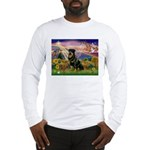 Autumn Angel & Rottie Long Sleeve T-Shirt