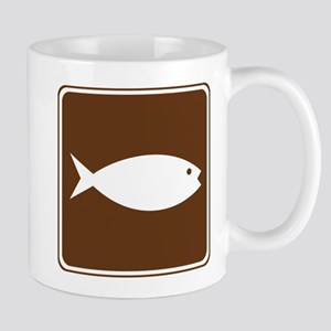 Fish Hatchery Sign Mug
