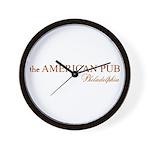 the American Pub Philadelphia Wall Clock
