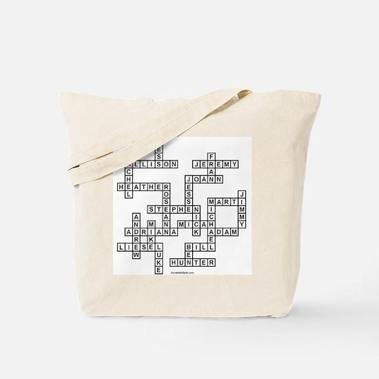 EBNER SCRABBLE-STYLE Tote Bag