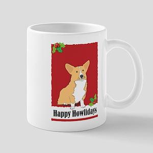 Pembroke Corgi Holiday Design Mug