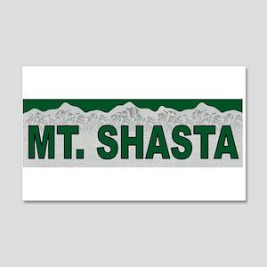Mt. Shasta 20x12 Wall Peel