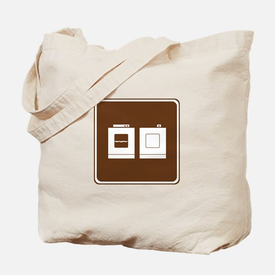 Laundry Sign Tote Bag