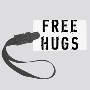 free-hugs Large Luggage Tag