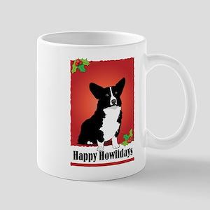 Cardigan Corgi Holiday Design Mug