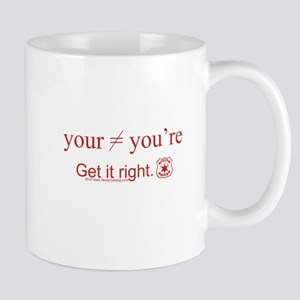 Your is not equal to You're Mug