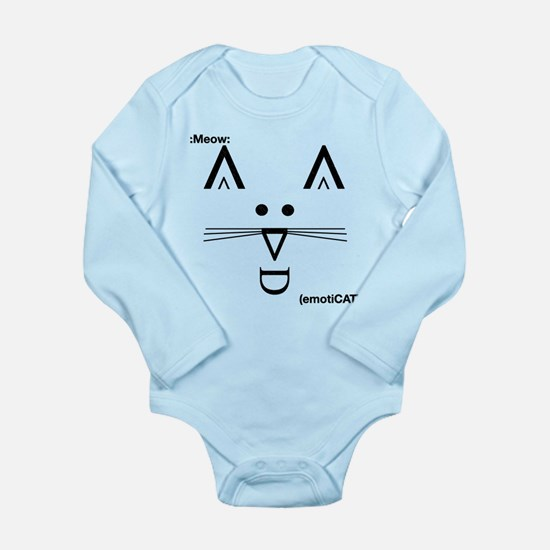 EmotiCat Long Sleeve Infant Bodysuit