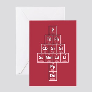 Twelve Elements of Christmas Greeting Card