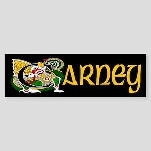 Carney Celtic Dragon Sticker (Bumper)