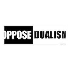 Oppose Dualism 36x11 Wall Peel