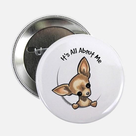 "Tan Chihuahua IAAM 2.25"" Button"