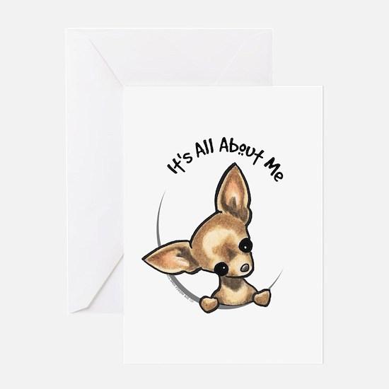 Tan Chihuahua IAAM Greeting Card